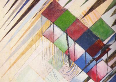 corona studio per monoplano, 1919 penna e tempera su carta cm 23,5x25,5 pubbl. cat.fughe e rintorni a cura di a. ruta ed electa napoli