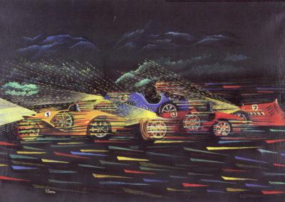 corona targa florio olio su tela 1923 cm 100x140pubbl cat.serate futuriste a cura di M.Scudiero